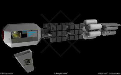 IDA Frigate - WIP6 by GungnirInd
