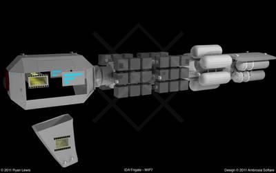 IDA Frigate - WIP7 by GungnirInd