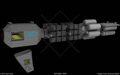 IDA Frigate - WIP8 by GungnirInd