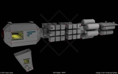 IDA Frigate - WIP9 by GungnirInd