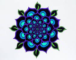 Purple Pattern by designermetin
