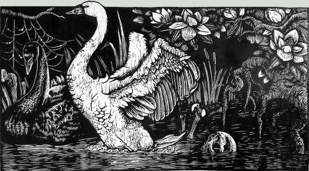 Swan Lake by KatMannel