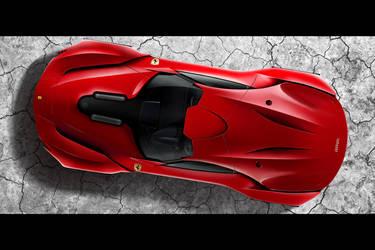 Ferrari CascoRosso-top by DejanHristov