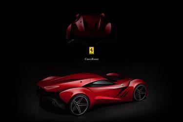 Ferrari CascoRosso-01 by DejanHristov
