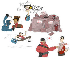 TF2 scribbles by Enigmar
