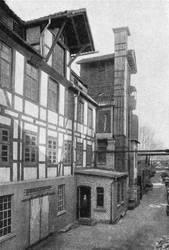 Der alte Gerberei-Fachwerksbau von 1827 by Risen-From-The-Ruins