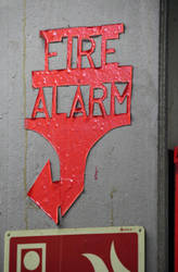Fire Alarm by Risen-From-The-Ruins