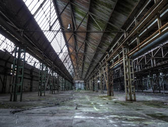 Kammerich factory work room No1 HDR by Risen-From-The-Ruins