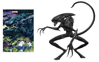 Earth Angel Xenomorph by Risen-From-The-Ruins