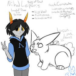Homestuck OC - Nihal by Fluffy-Moose