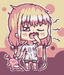 Chibi Anzu Futaba by Xothex
