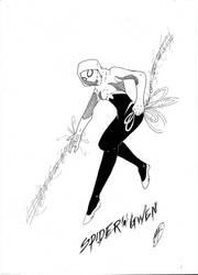 Spider-Gwen  [Marvel ] (FanArt) by DMXIII