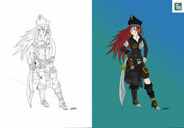Pirate [in Colors] by DMXIII