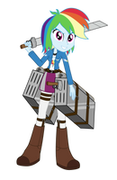Wonderscout Commander Rainbow Dash by Amante56