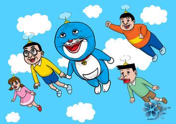 Doraemon by TragicUglyDuckling