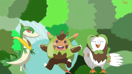 Plant Starters First Evolution Generation 5-7 by MrsLittletall