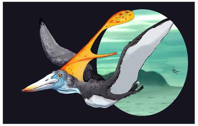 Nyctosaurus by aletia