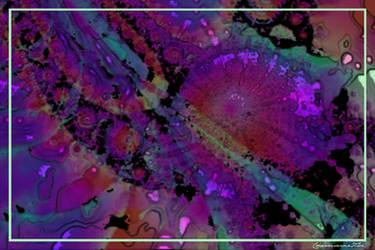 Apple Abstract 4 by CharmaineZoe