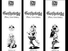 Monster Girl Bookmarks by Gothology