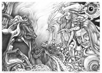 Waking the Werewolf by zergy79