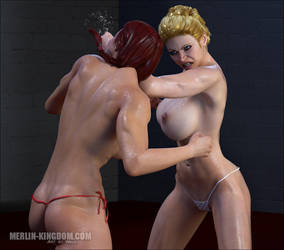 Ginger vs Blonde again! by World-of-Waldo