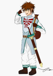 Hyrulean scout by Thrybald