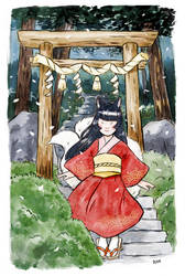 Old Torii by Dunicakes