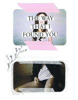 the way that i found you by aprileelcich