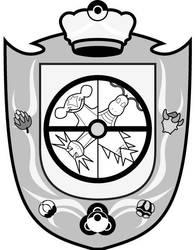 Escudo de los 4 Dragones by SoraSolStrife