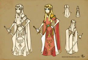 Demon Road: Zelda Design by sambees