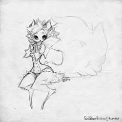 Ara Sketch by sambees