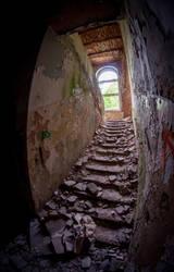 Abandoned psychiatric hospital Zofiowka by Lantret