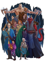Vox Machina by CallofTheDeep
