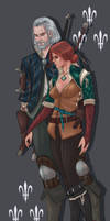 Trash for Triss by CallofTheDeep