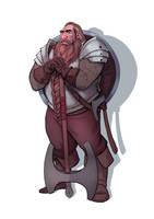 Dukin the Dwarf by CallofTheDeep