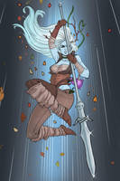 Aurora Kell, Warrior of the Ashari by CallofTheDeep