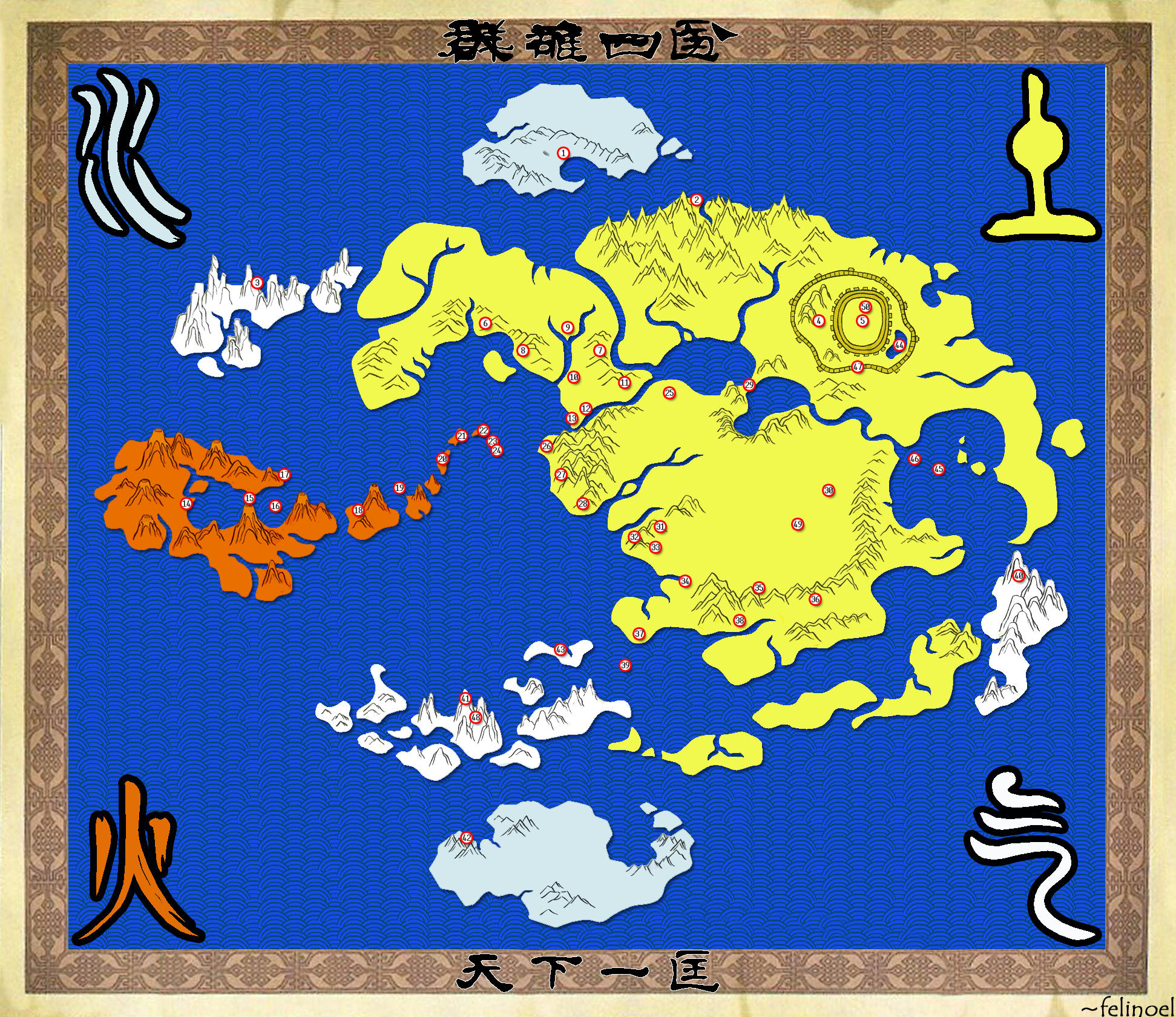 The World of the Avatar by felinoel