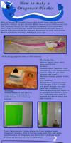 How to Make a Dragonair Plush by saiyamewome