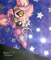 Foxy Pirate cove FNaF by Mizuki-T-A
