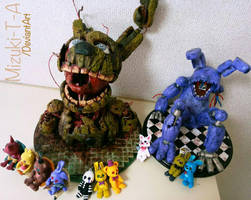 My clay family / FNaF by Mizuki-T-A
