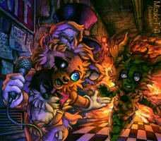 I hope you survive the fire / FNaF 3 by Mizuki-T-A