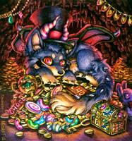 Dragon Wolf by Mizuki-T-A
