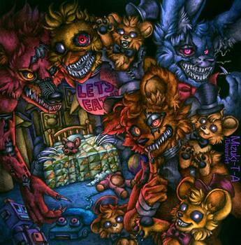 Don't disturb the child / Nightmares FNaF4 by Mizuki-T-A
