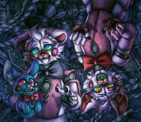 Faulty / Funtime Freddy Foxy FNaF SL by Mizuki-T-A