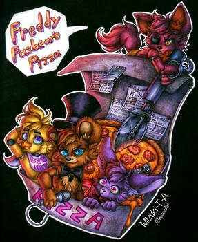 Freddy Fazbear's Pizza / FNaF by Mizuki-T-A