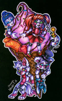 CircusBaby's Icecream / FNaF SL by Mizuki-T-A