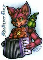 Rockstar Foxy / FNaF by Mizuki-T-A