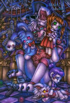 Fred's dollyroom / Funtime Freddy FNaF SL by Mizuki-T-A