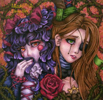 The fragile roses by Mizuki-T-A