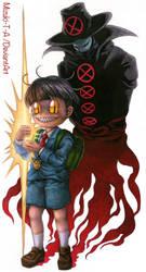Death lightning / Anchovy CROKET! by Mizuki-T-A
